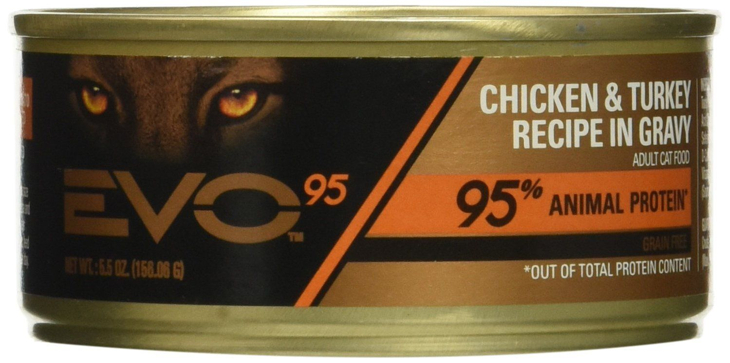 Evo Canned Cat Food Chicken And Turkey 5 5 Oz 24 Ct You Can Get More Details By Clicking On The Image This With Images Canned Cat Food Kitten Food Canned Food