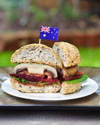 Aussie Mushroom Burgers {Via @Erin B}