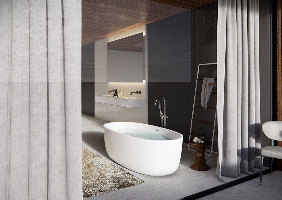 25 Idee Per Arredare Un Bagno Moderno Con Elementi Di Design