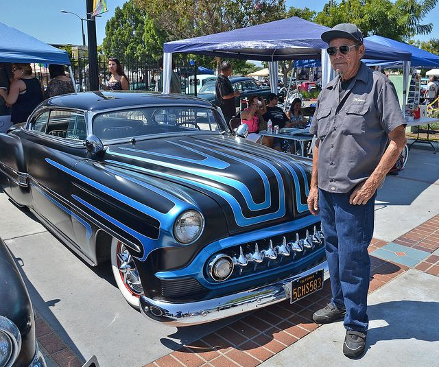 memo ortega | Memo Ortega Honorary Car Show Real deal customizer from the 50's