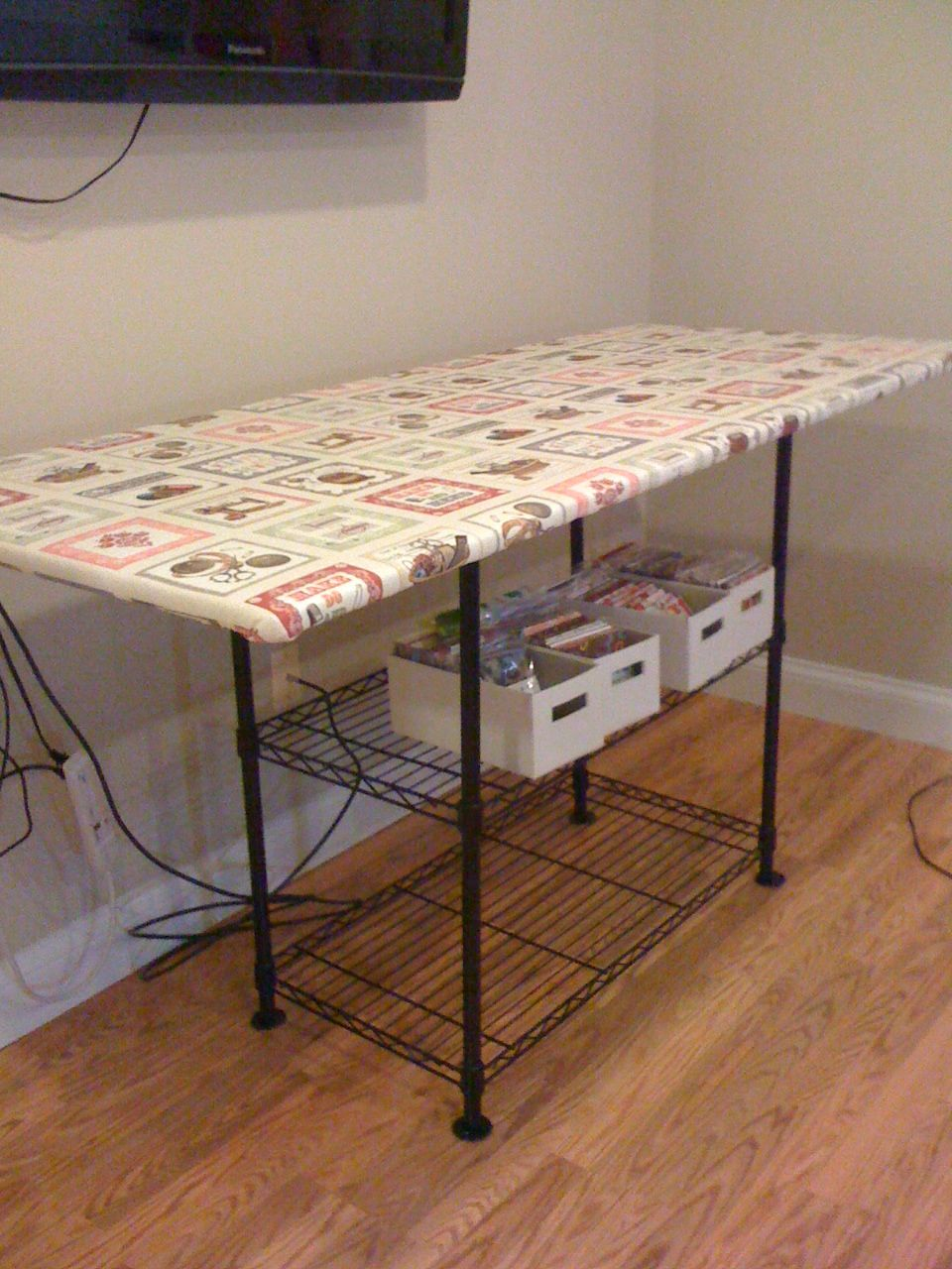 Karen's Sewing Room: Ironing Station | food | Pinterest | Ironing ... : wide ironing board for quilting - Adamdwight.com