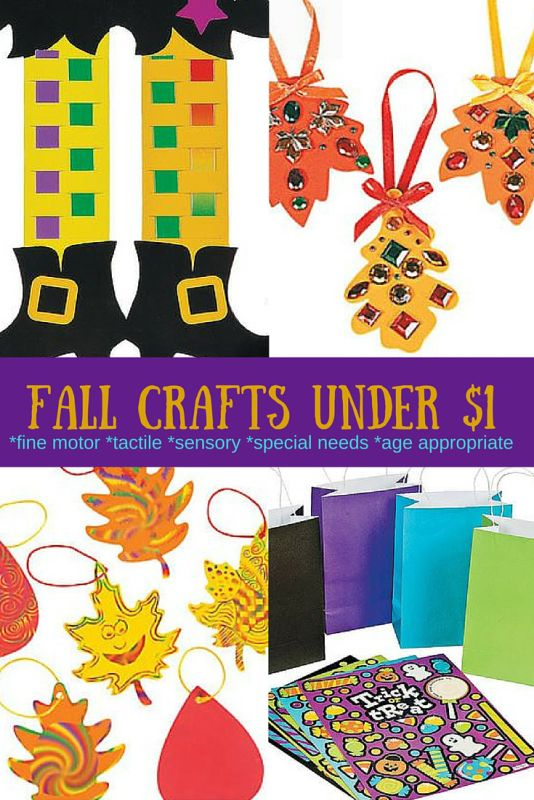 easy fine motor Halloween crafts for under $1~Oriental Trading