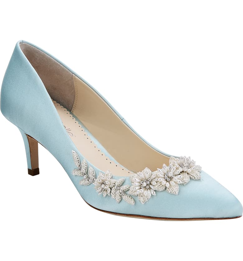 Bridal Shoes At Nordstrom: Bella Belle Iris Pointy Toe Pump (Women In 2020
