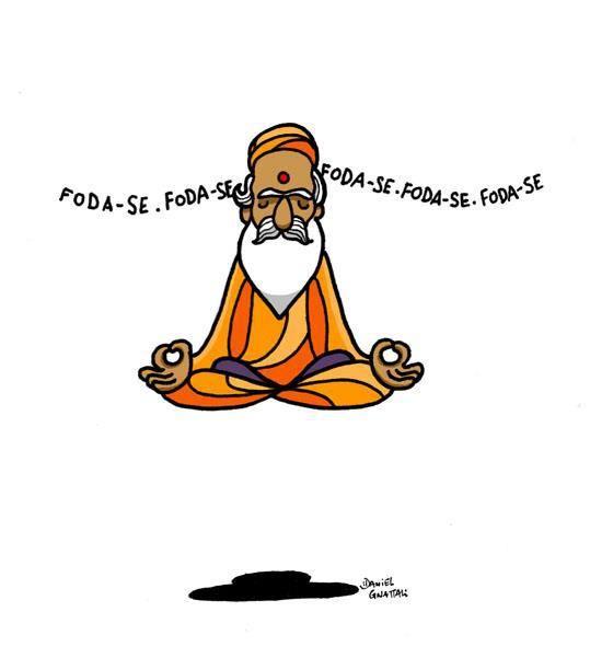 Quando Nada Adiantar Mande Um Mantra Com Imagens Frases