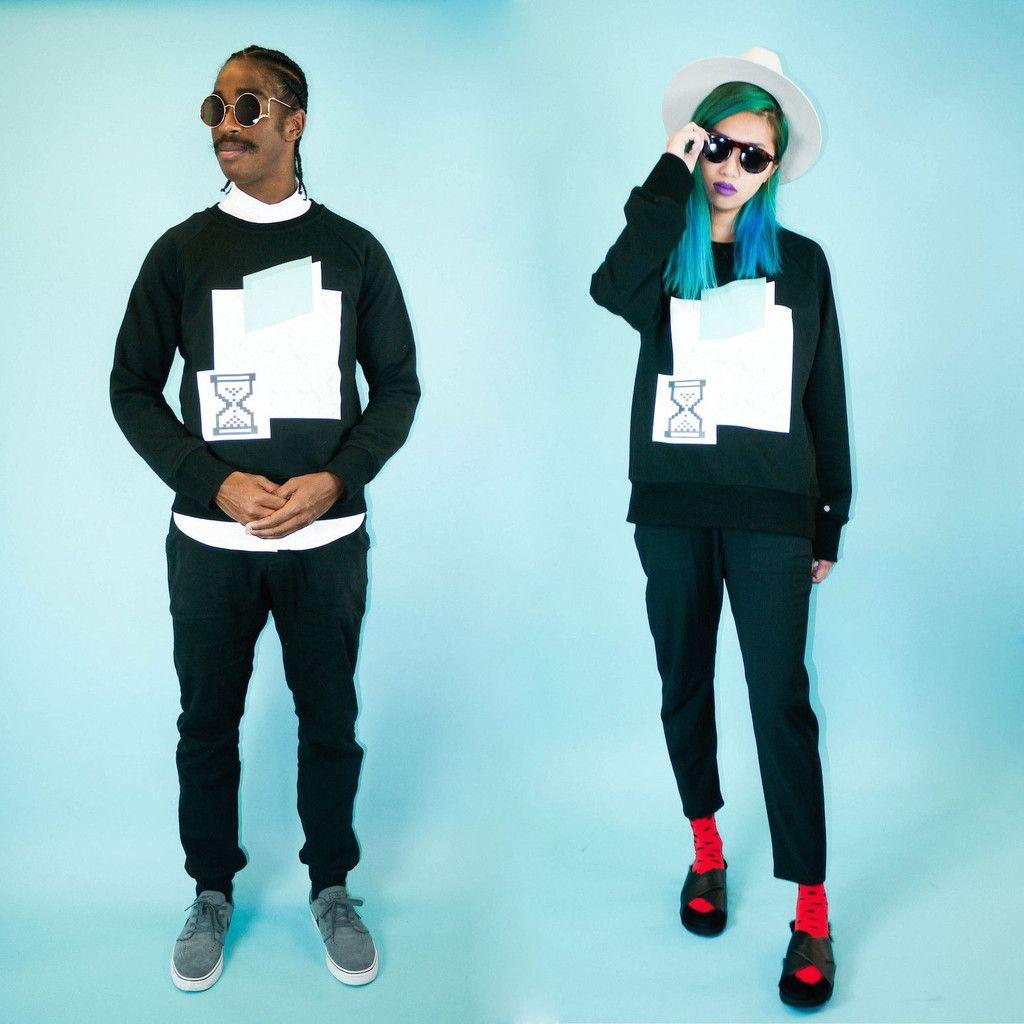Black Vapor Pullover Sweatshirt - BKBT Concept
