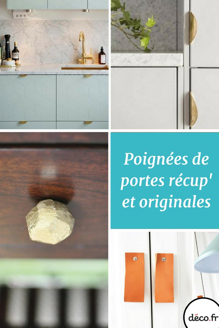 Poignee Porte Placard Cuisine 3 idées de poignées de porte récup' dans la cuisine