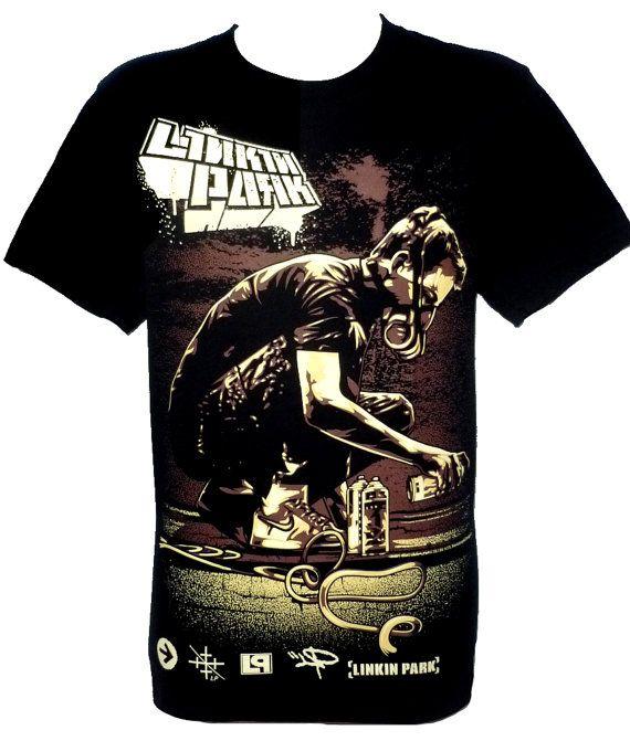 Linkin Park Meteora Rock Band T Shirt Size M L Par