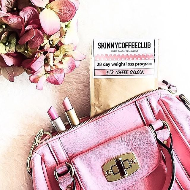 Just ordered my @skinnycoffeeclub pack and I'm so excited to try it out! I've had so many people recommend it and finally just said yes! I'll let y'all know how it is! 💞☕️ #coffeeaddict **************👉And of course, you can shop the look! I've tagged some of the cutest pink purses and lipsticks imaginable! 👛💄 @liketoknow.it #liketkit http://liketk.it/2pJkv
