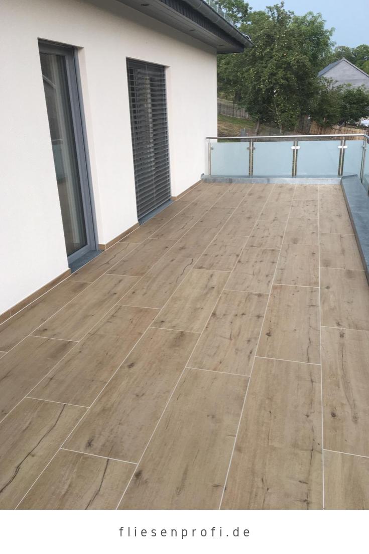 Terrassenplatten Holzoptik Eiche Großformat 200x200x20cm Ragno ...