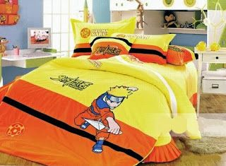 Bedroom Decor Ideas And Designs Naruto Themed Bedroom