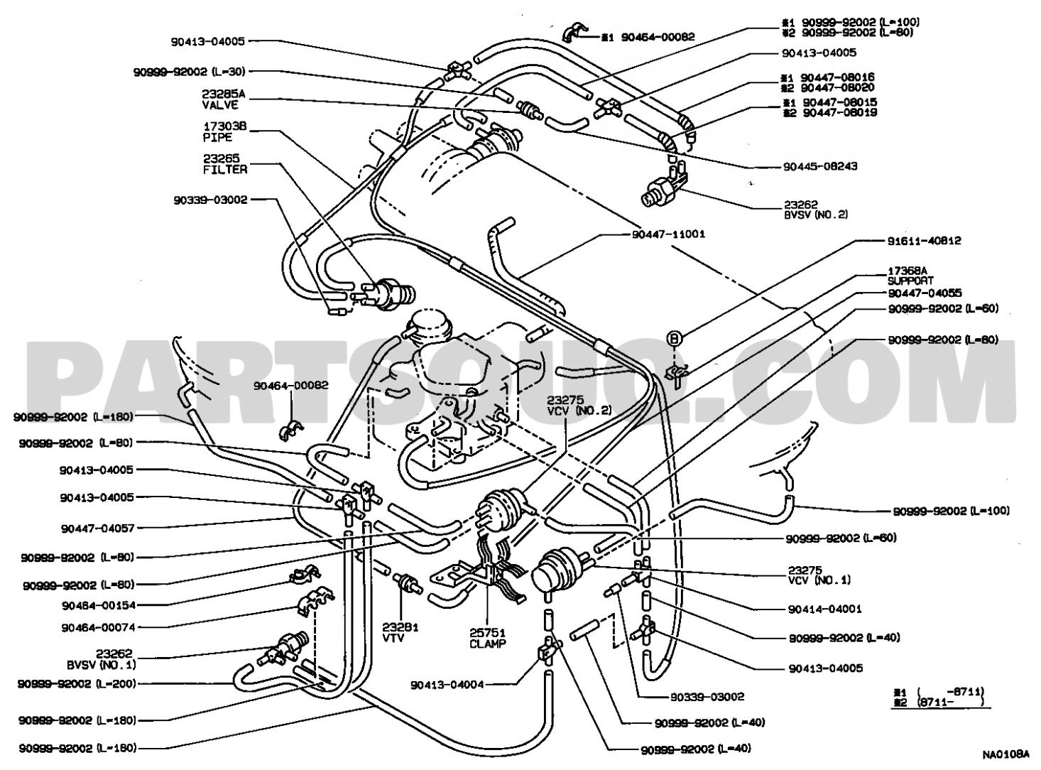 Toyota Corolla 7e Engine Vacuum Diagram Toyota Corolla 7e