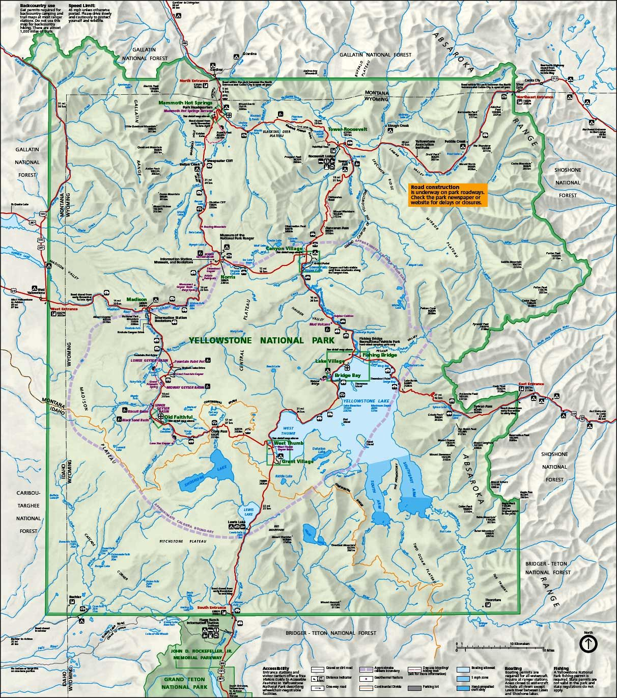 Yellowstone national park is the flagship of the national park