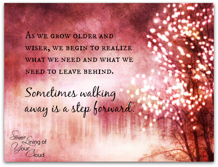 As We Grow Older And Wiser, We Begin To Realize What We