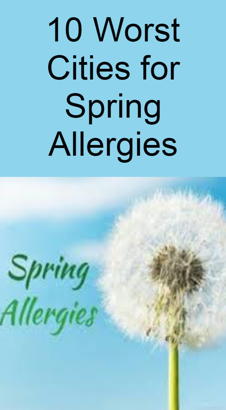 10 Worst Cities For Spring Allergies Extra Fit In 2020 Spring Allergies Allergies Fitness Motivation Quotes