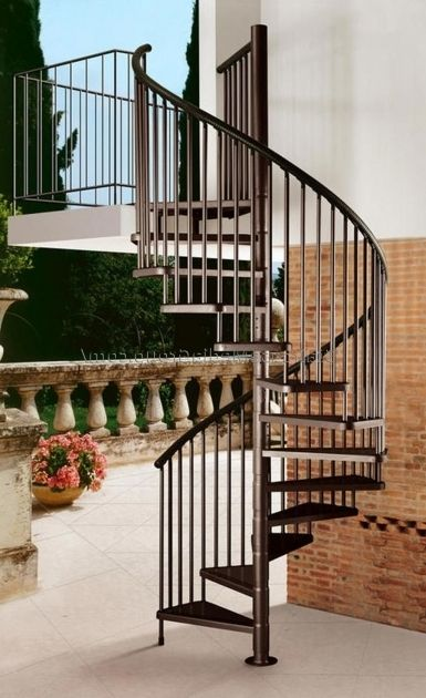 Stunning Best Cheap Spiral Staircase Design Photo 29