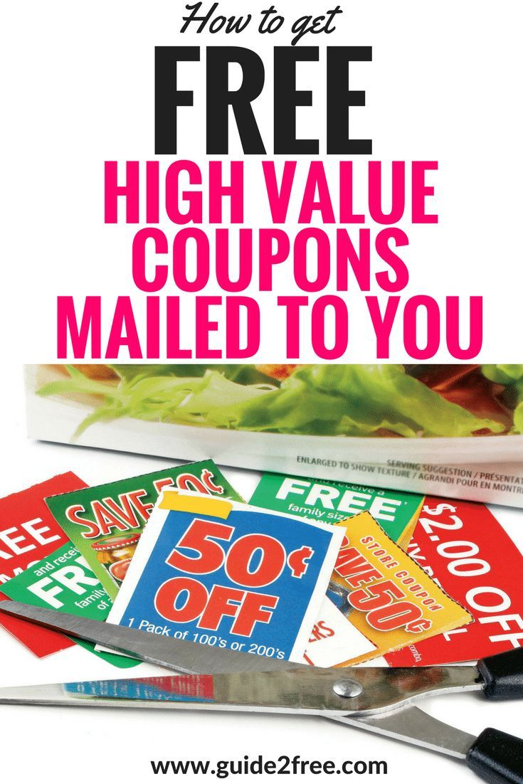 FREE Coupons By Mail – Email Companies to get High Value Coupons