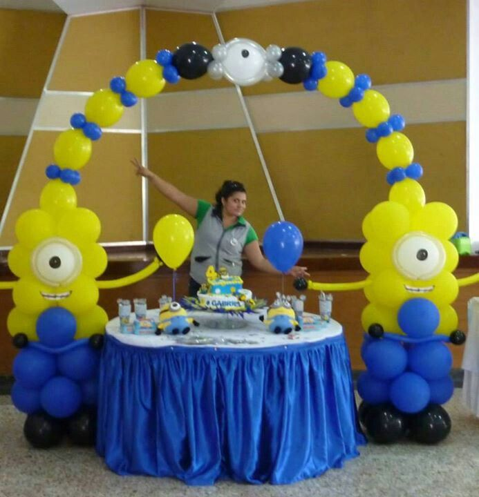 Minions Minions Pinterest Birthdays Birthday Party Ideas And