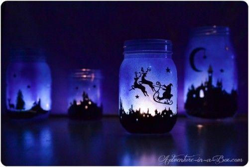 Christmas Lantern Decor DIY Tutorials