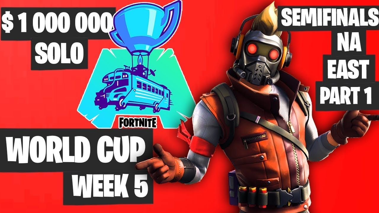 Fortnite World Cup Week 5 Highlights Semifinal Na East Solo Part 1 Fo