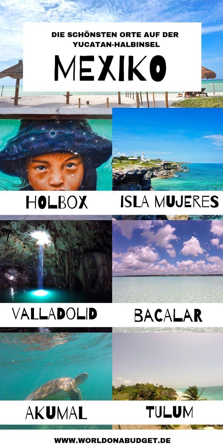 Reisen auf der Yucatan Halbinsel: Route, Essen, Kosten & Sicherheit