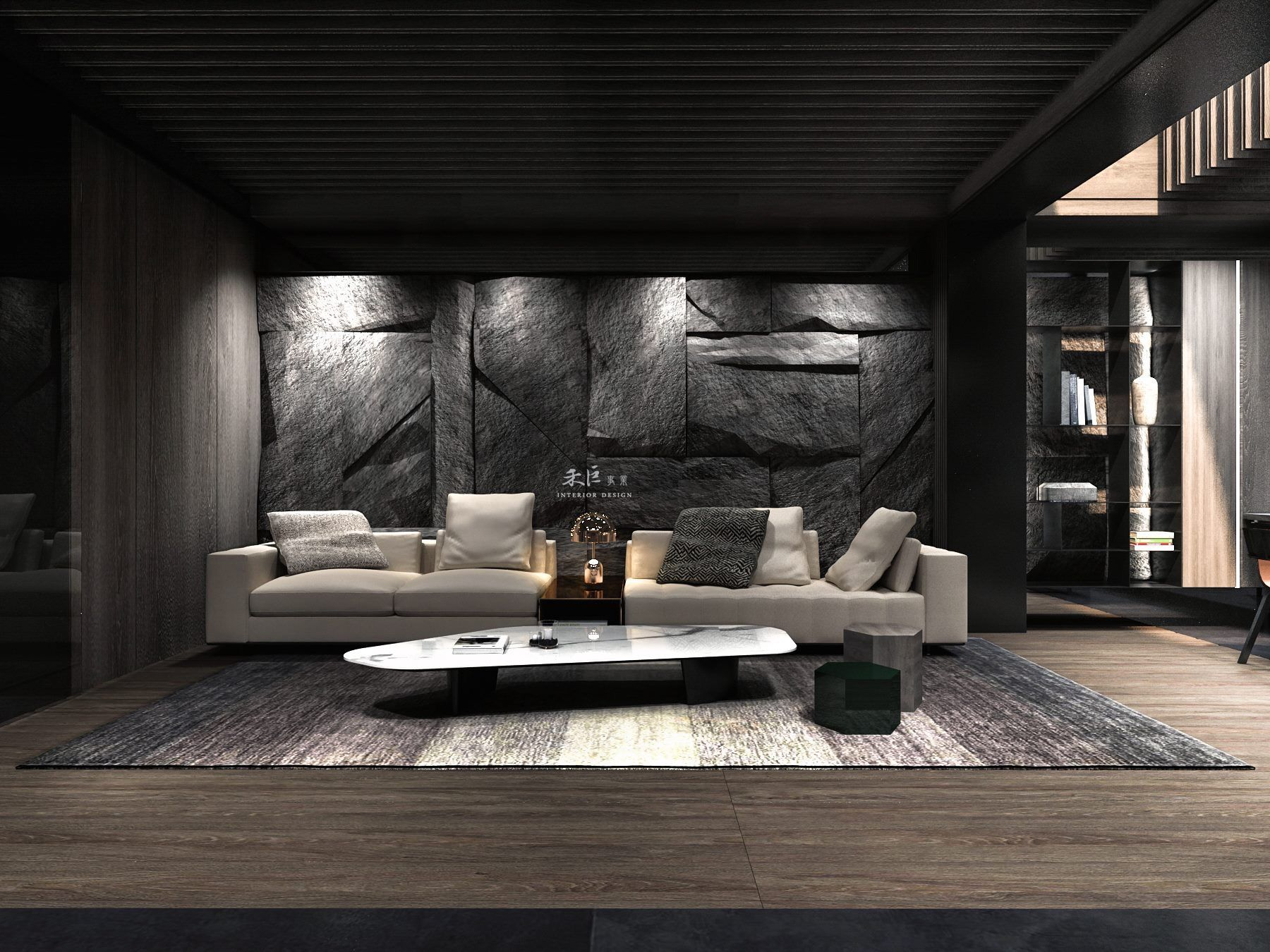 Home living room background