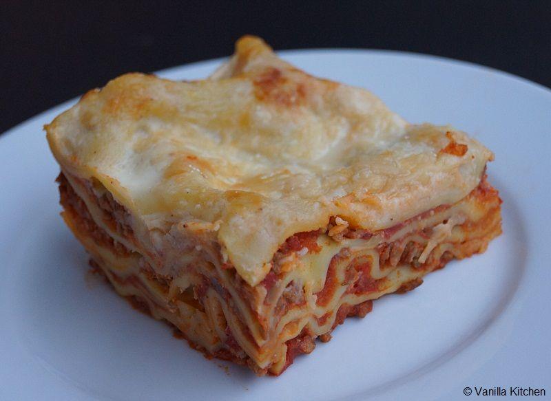 Theorie & Praxis: Klassische Lasagne