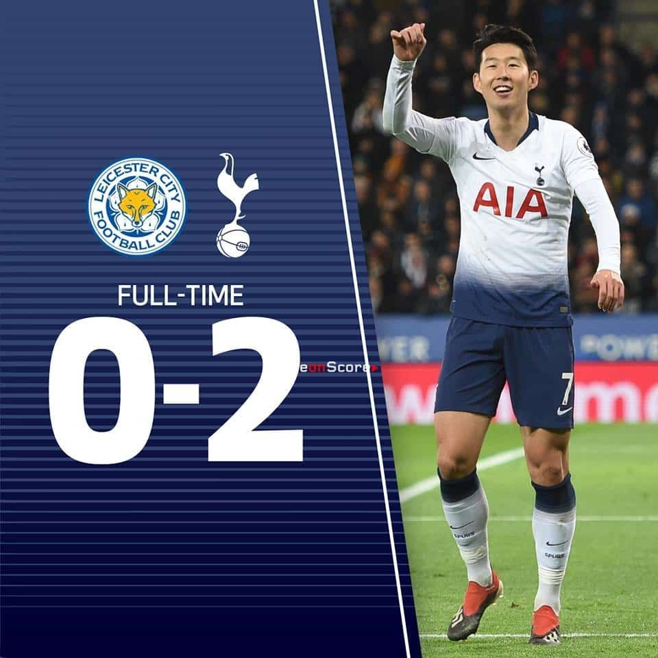 Leicester City 0 2 Tottenham Hotspur Full Highlight Video Premier League 2018 2019 Tottenham Hotspur Tottenham Leicester City