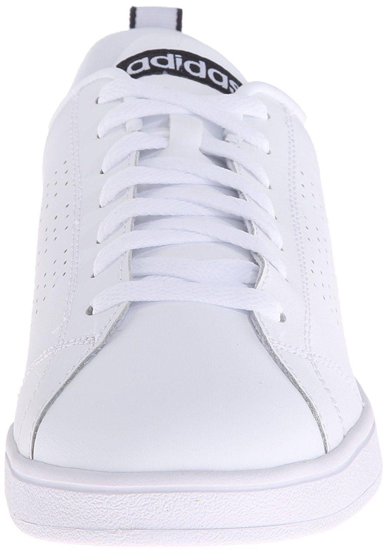 adidas neo women's vantaggio pulito vs w occasionale delle scarpe da ginnastica.