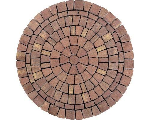 Pflasterkreis Capriccio Braun Melange D 168cm Starke 6cm Paving Design Patio Flooring Brick Patios