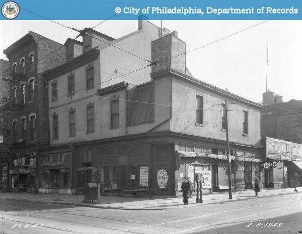 another photo of my corner, c. 1929