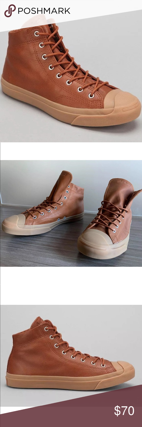 7f9b456a653b Men s Converse Jack Purcell Boots Mid Shoes NEW CONVERSE JACK PURCELL MID  SHOES MEN S SIZE 10.5