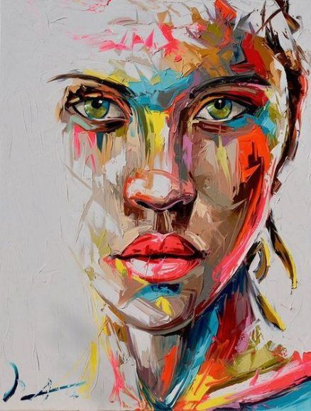 22+ Trendy Ideas Painting Portrait Ideas Faces Inspiration