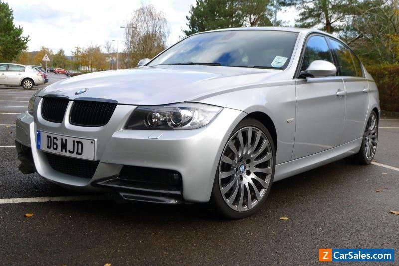 BMW 335d M sport saloon. Low mileage (50k) and excellent