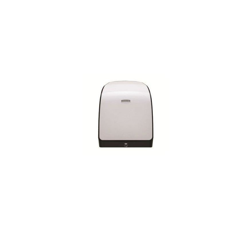 kimberly clark 34367 mod mechanical hrt roll towel dispenser white commercial bathroom accessories paper towel