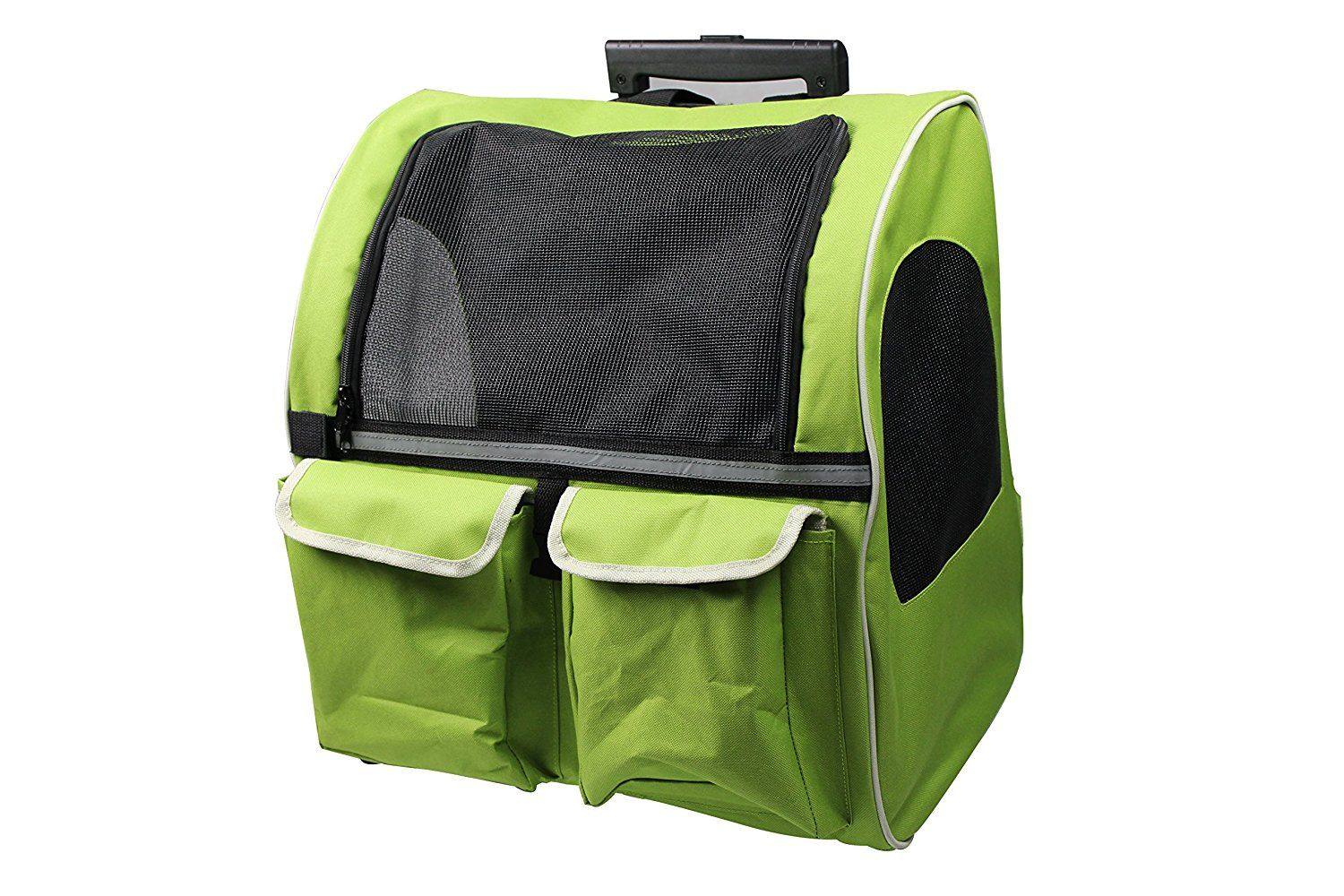 Pettom Roll Around 4in1 Pet Carrier Travel Backpack for