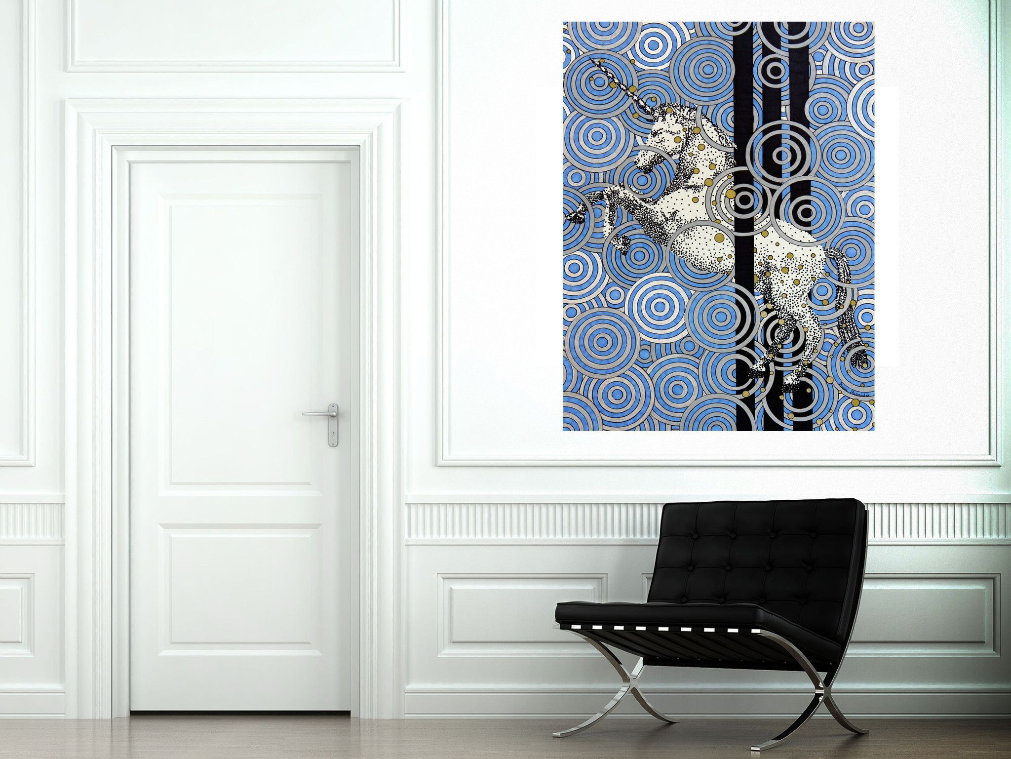 Magic unicorn large canvas reproduction products pinterest