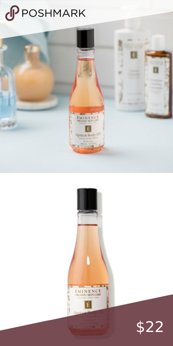 Eminence Apricot Body Oil Body Oil Apricot Kernel Oil Organic Skin Care