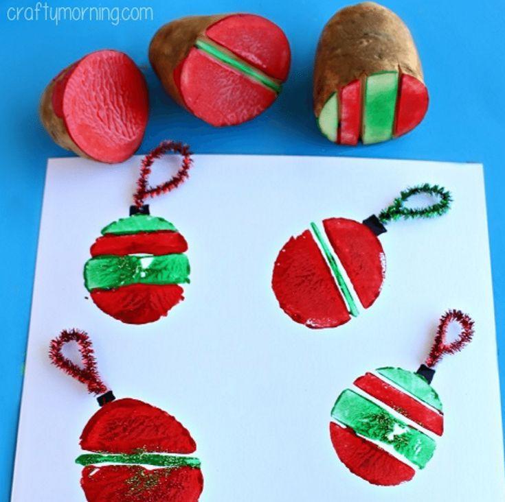 15 tolle Weihnachtskarten für Kinder #holidaycraftsforkidstomake