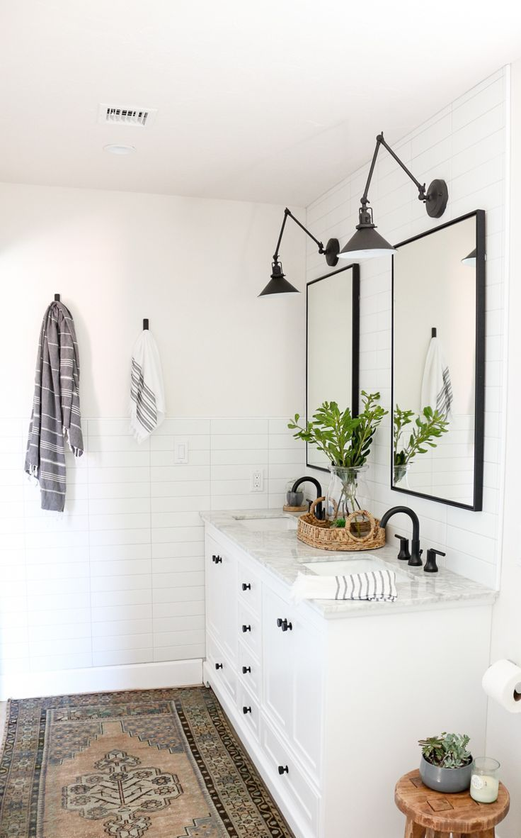Photo of Trendy Farmhouse Grasp Rest room Renovation with Delta: The Course of & Reveal – 1111 Mild Lane – World Best #Diy Blogs