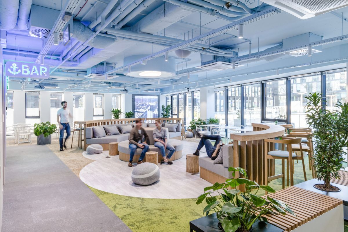 Office Tour: Nordea Seaport Offices – Gdynia,  #Corporateofficeloungedesign #Gdynia #Nordea #Office #offices #Seaport #Tour