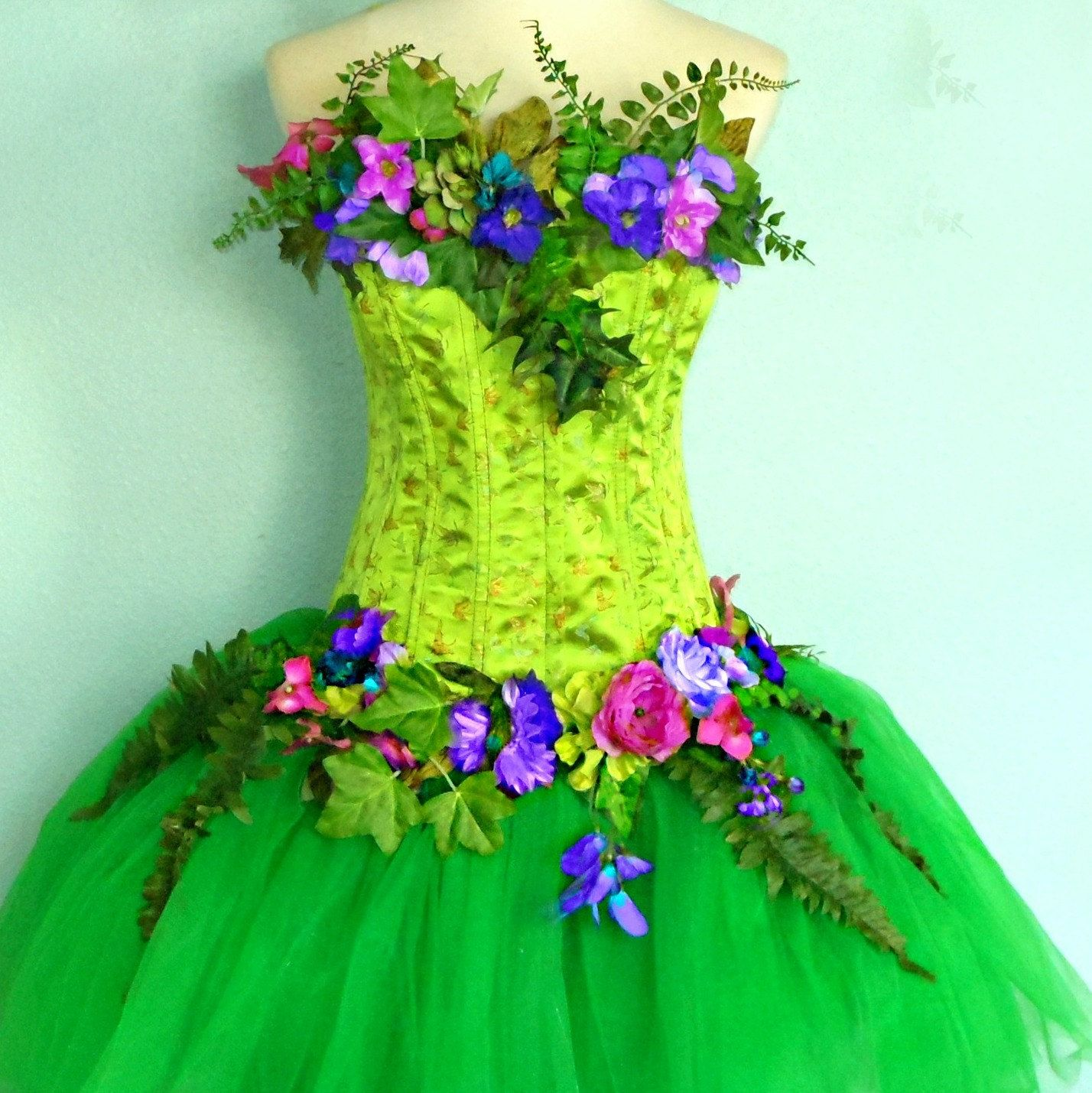 Nature Dress: Homemade Mother Nature Costume