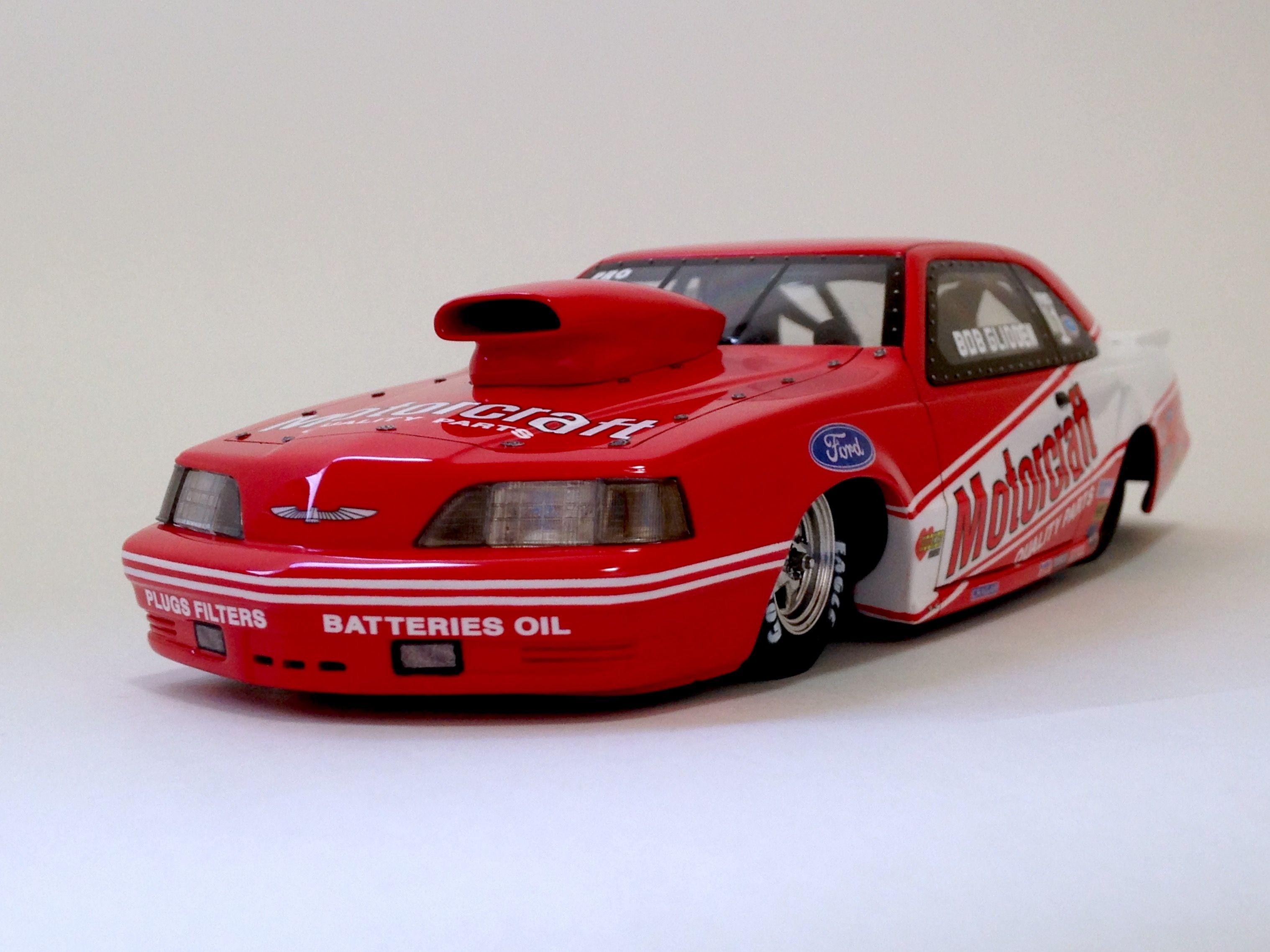 Bob Glidden Motorcraft T Bird Pro Stock Revell Drag Racing Cars Ford Racing Bob Glidden