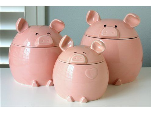 Oops The Offer You Re Looking For Has Expired Pig Kitchen Pig Decor Canister Sets