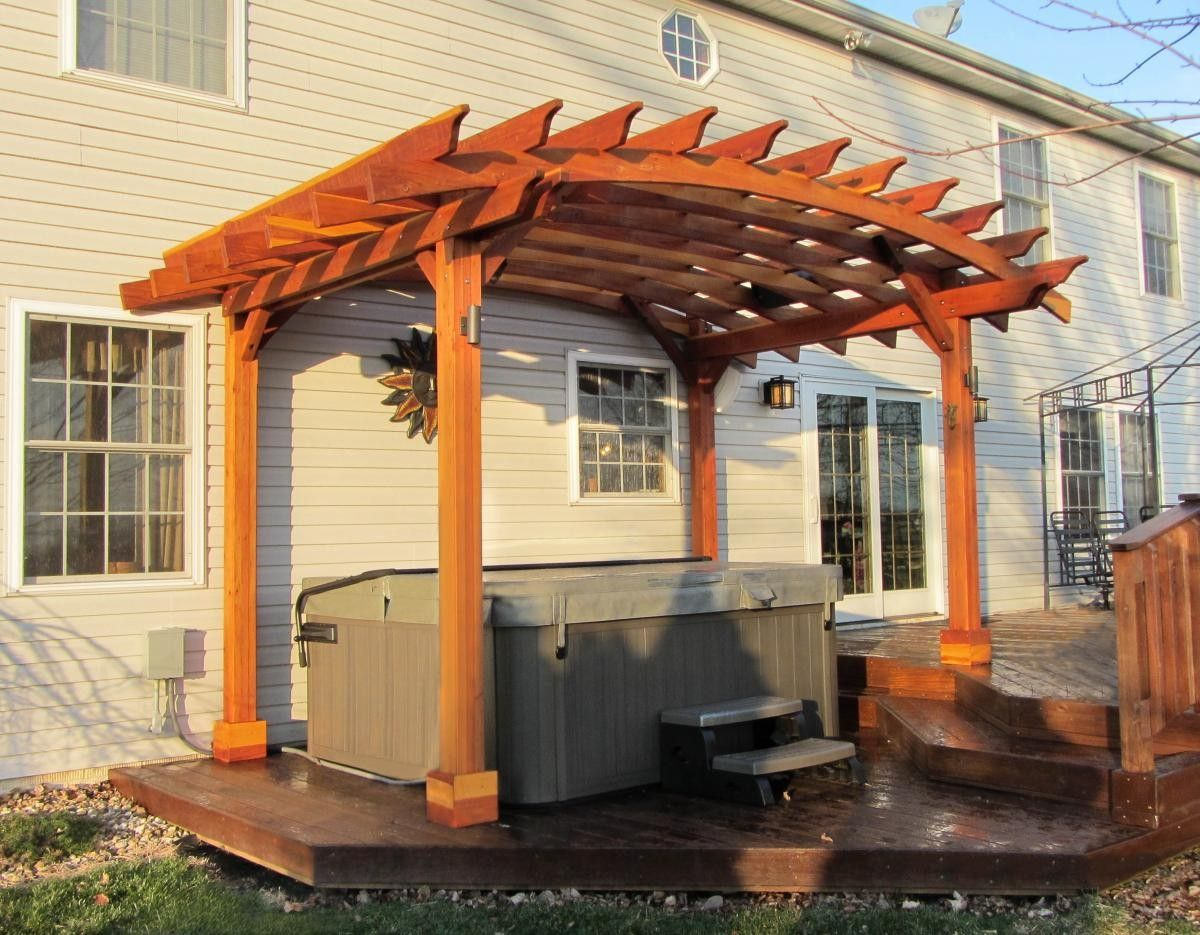 Arched Pergolas - Pergolas | Forever Redwood - Arched Pergolas - Pergolas Forever Redwood Gardening Ideas