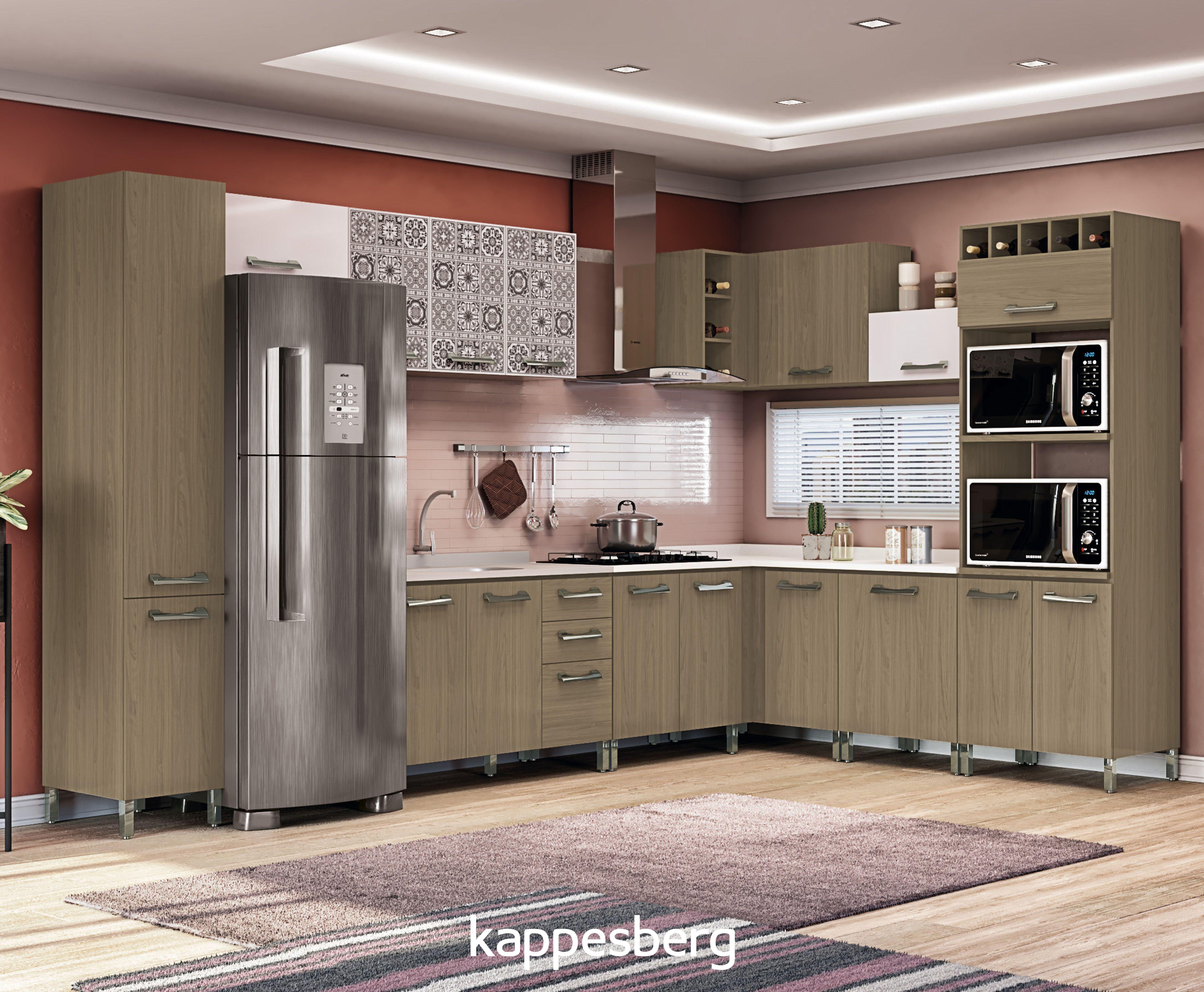 A Cozinha Sense Permite Combina Es De Cores Para Deixar O Ambiente