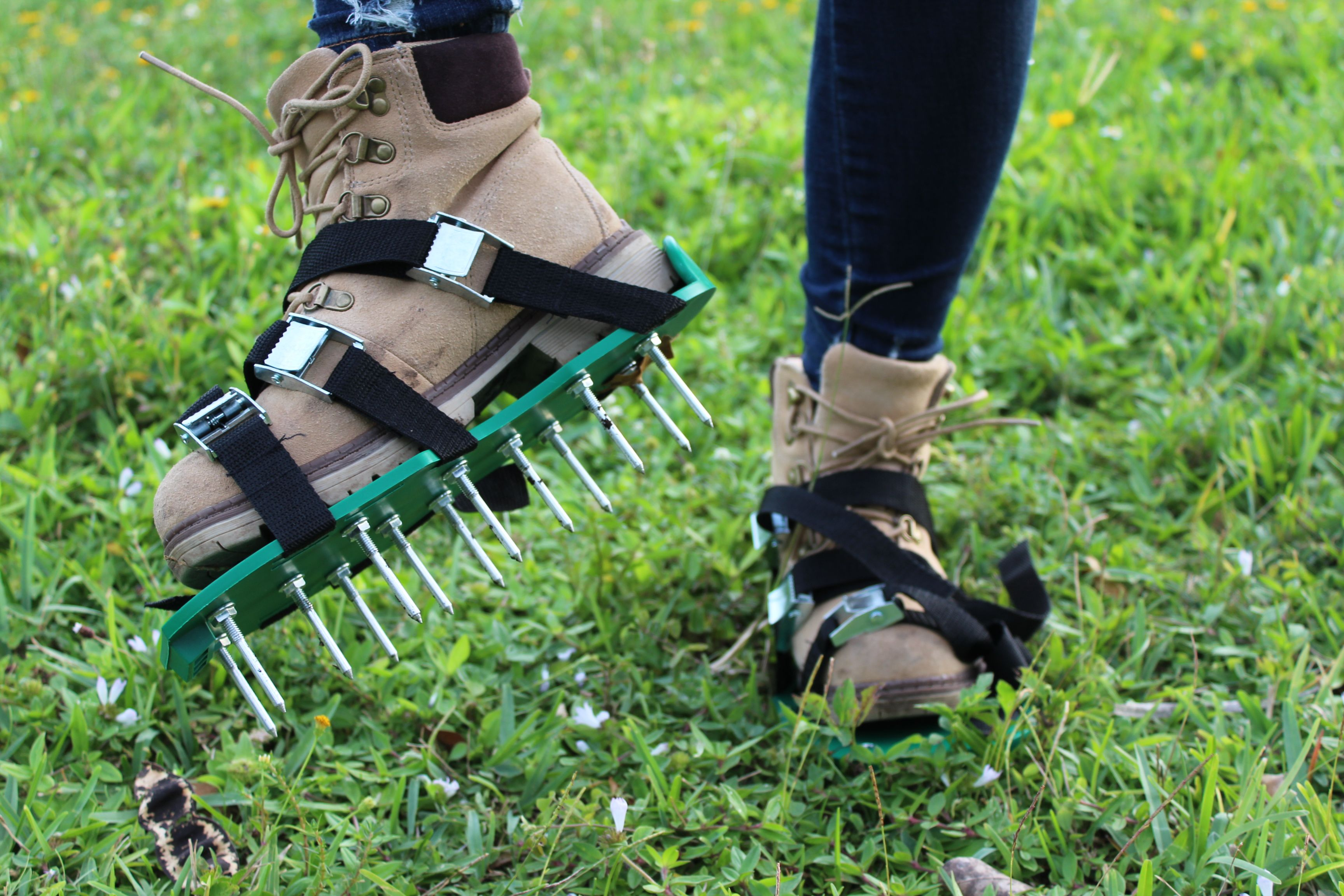 Our Best Product Lawn Aerator Shoes You Can Get Them From The Link Aerate Lawn Aerator Shoes