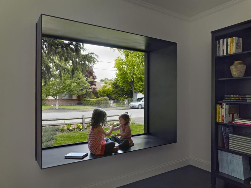 AECCafe.com - ArchShowcase - Bal House in Menlo Park, California by Terry & Terry Architecture designed using ArchiCAD