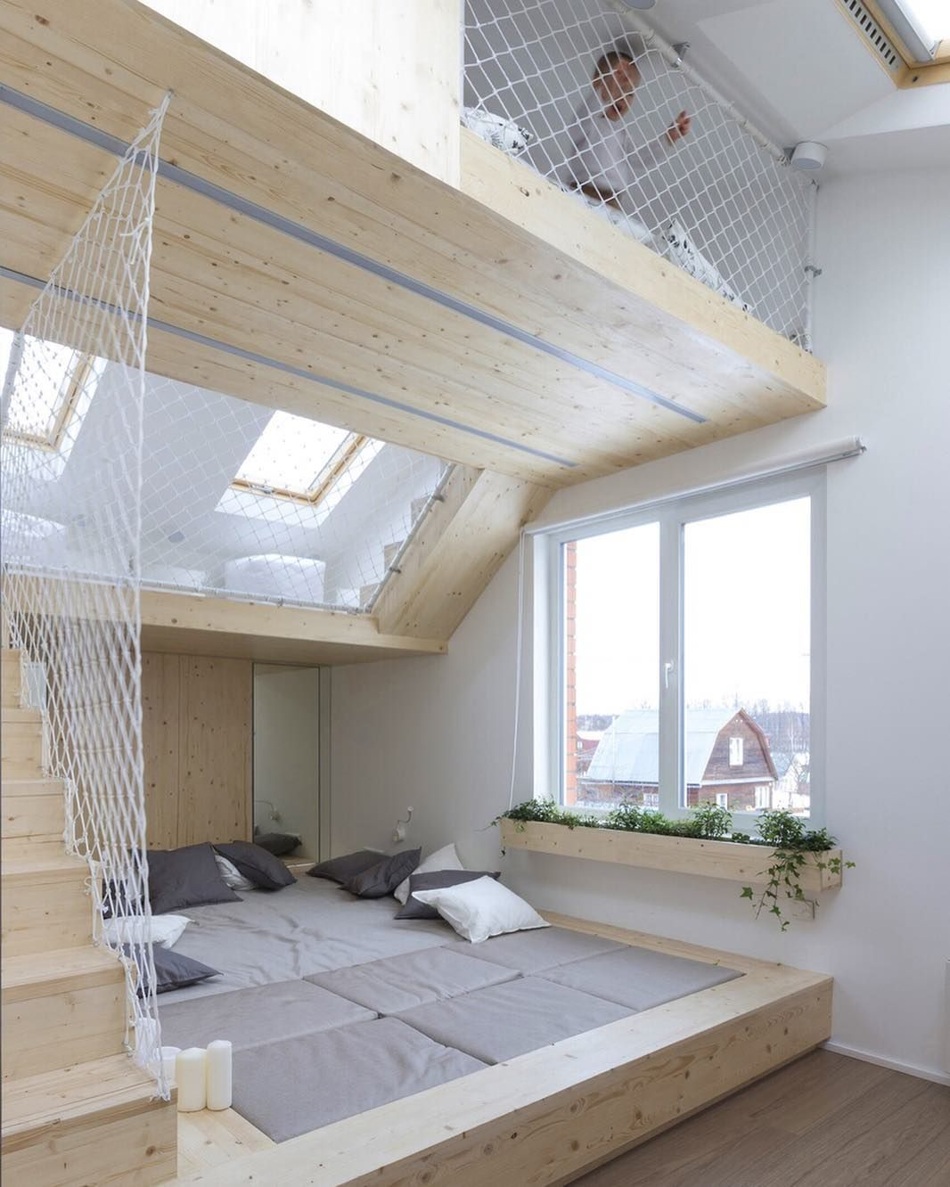 The Idea Behind The Design Of This Bedroom By Ruetemple Is