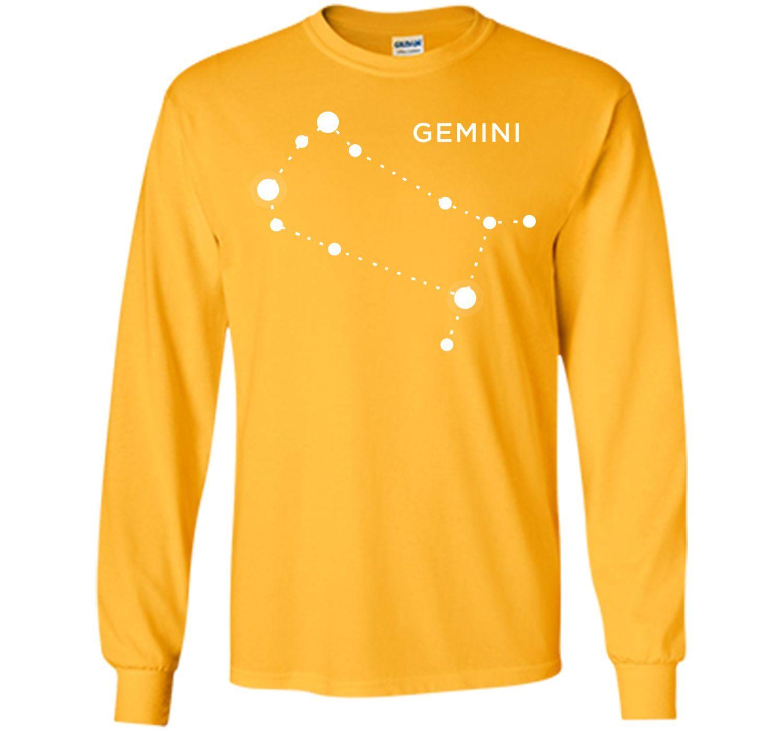 Gemini Zodiac Constellation Sign T-Shirt