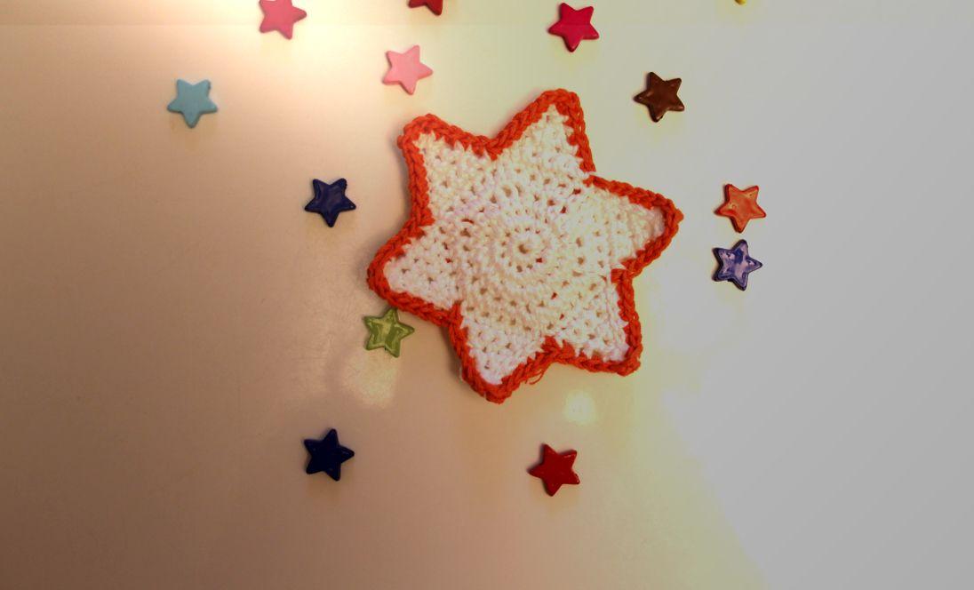 Twinkle twinkle little start - free crochet pattern!